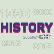 SubtitleNEXT 30+ Year Journey